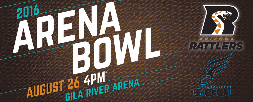 Arizona Rattlers ArenaBowl Game XXIX  vs. Philadelphia Soul