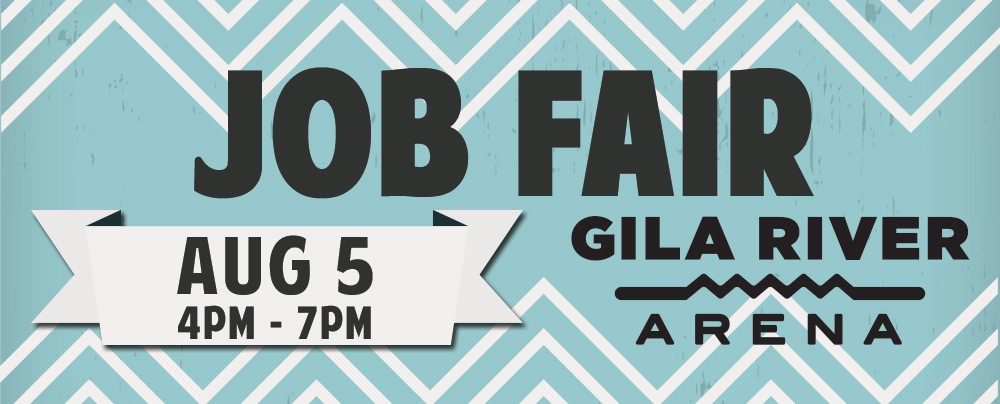 Gila River Arena Job Fair