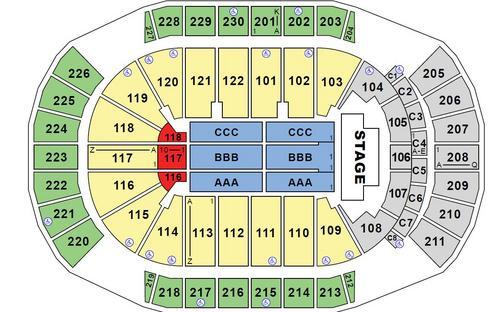 Gila river arena glendale az seating charts